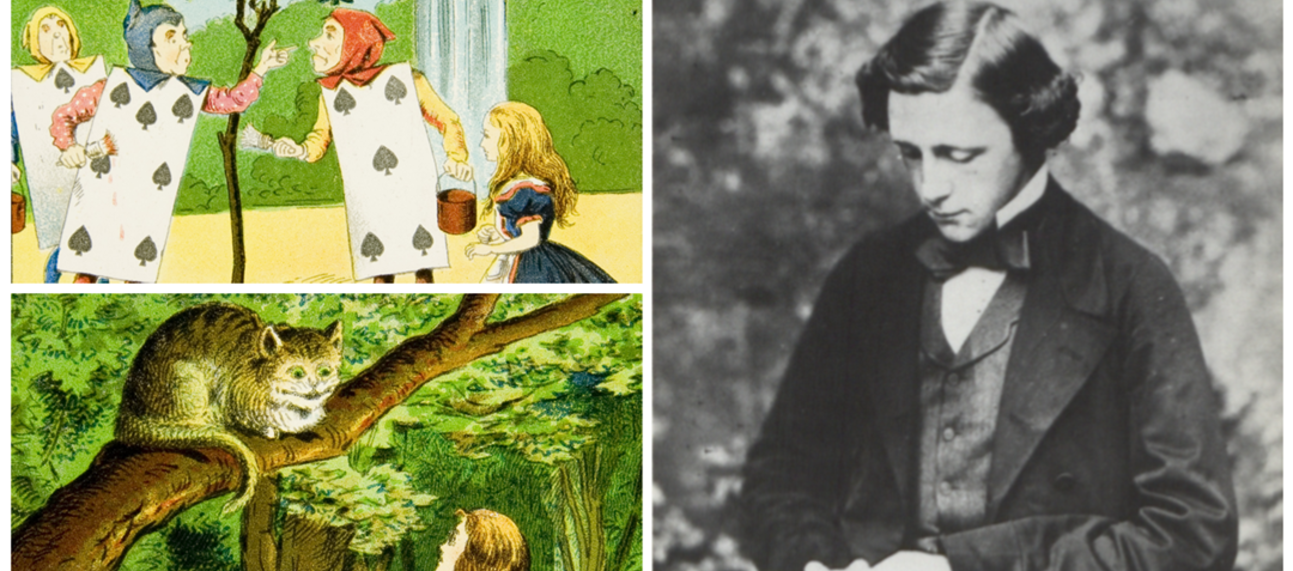 Lewis Carroll and Alice page Banner image v3