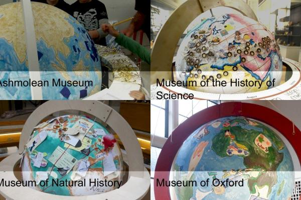 Renaissance Globes Project: Venues and Events (listing image showing globes from each of the four museums)