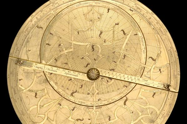 Astrolabe, by Regnerus Arsenius, Louvain, 1565. Object's inventory number is 53558