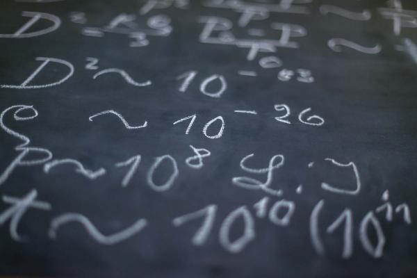 einstein's blackboard 245