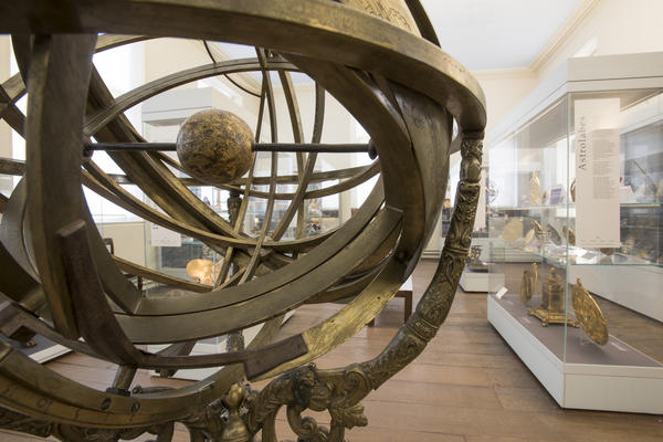 Armillary Sphere in Top Gallery History of Science Museum Oxford