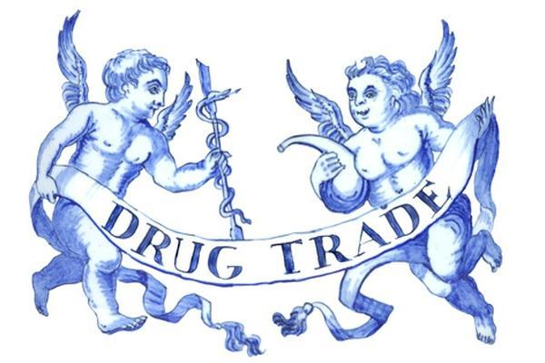 Drug Trade banner image featuring cherubs