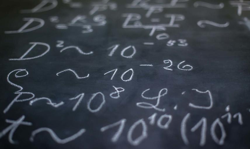 Einstein's blackboard 244