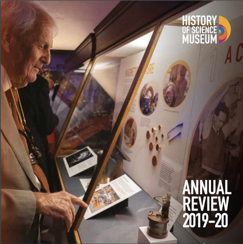 History of Science Museum Annual Review 2019-20