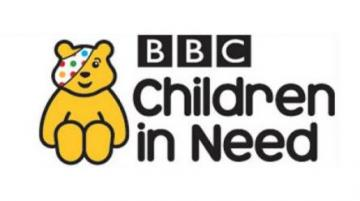 BBC Children in Need logo featuring Pudsey bear