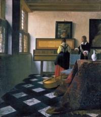 the music lesson johannes vermeer 261x300