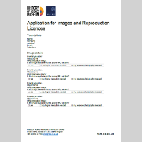 application for images and reproduction licences print picture